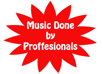 Music Done by proffesionals